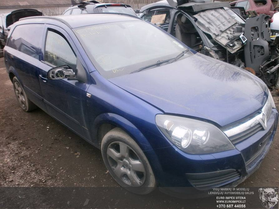 Naudotos automobiliu dallys Foto 3 Opel ASTRA 2006 1.7 Mechaninė Universalas 2/3 d. Melyna 2014-3-03 A1381