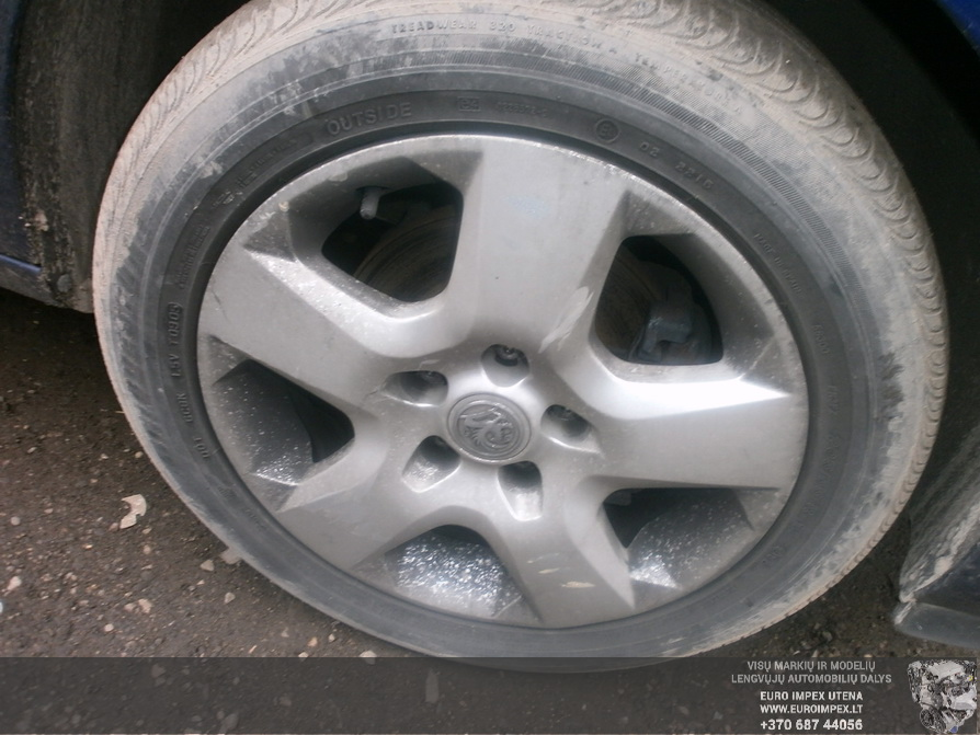 Naudotos automobiliu dallys Foto 4 Opel ASTRA 2006 1.7 Mechaninė Universalas 2/3 d. Melyna 2014-3-03 A1381
