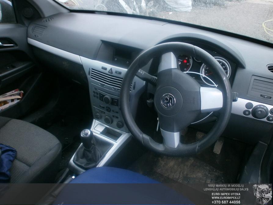 Naudotos automobiliu dallys Foto 5 Opel ASTRA 2006 1.7 Mechaninė Universalas 2/3 d. Melyna 2014-3-03 A1381