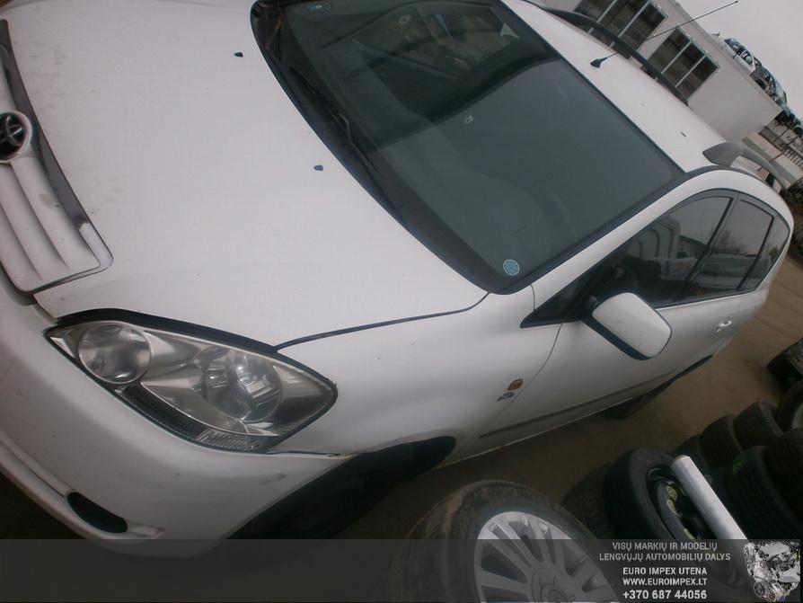 Naudotos automobiliu dallys Foto 3 Toyota AVENSIS VERSO 2007 2.0 Mechaninė Vienatūris 4/5 d. Balta 2014-3-03 A1386