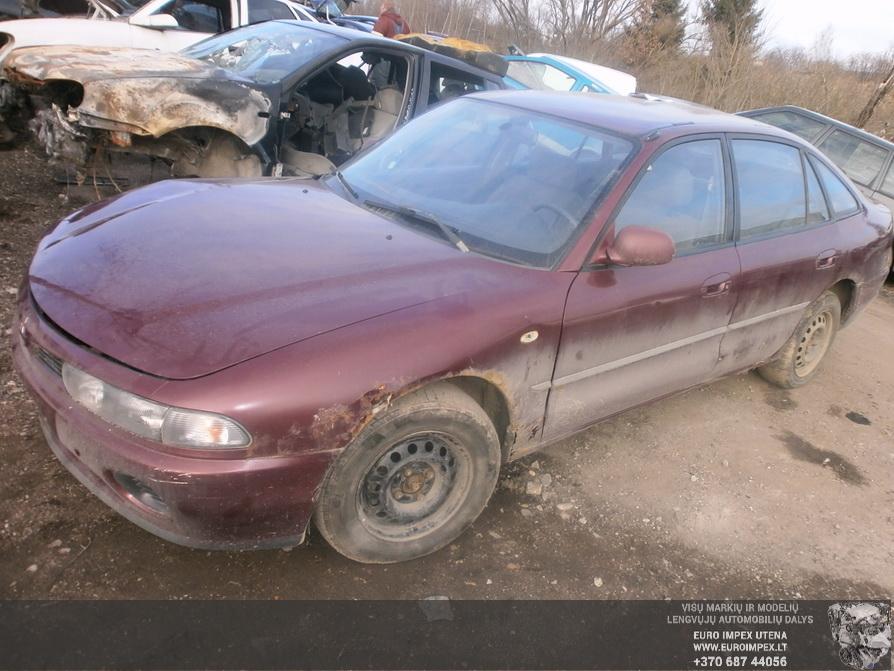 Naudotos automobilio dalys Mitsubishi GALANT 1994 2.0 Mechaninė Hačbekas 4/5 d. Raudona 2014-3-04