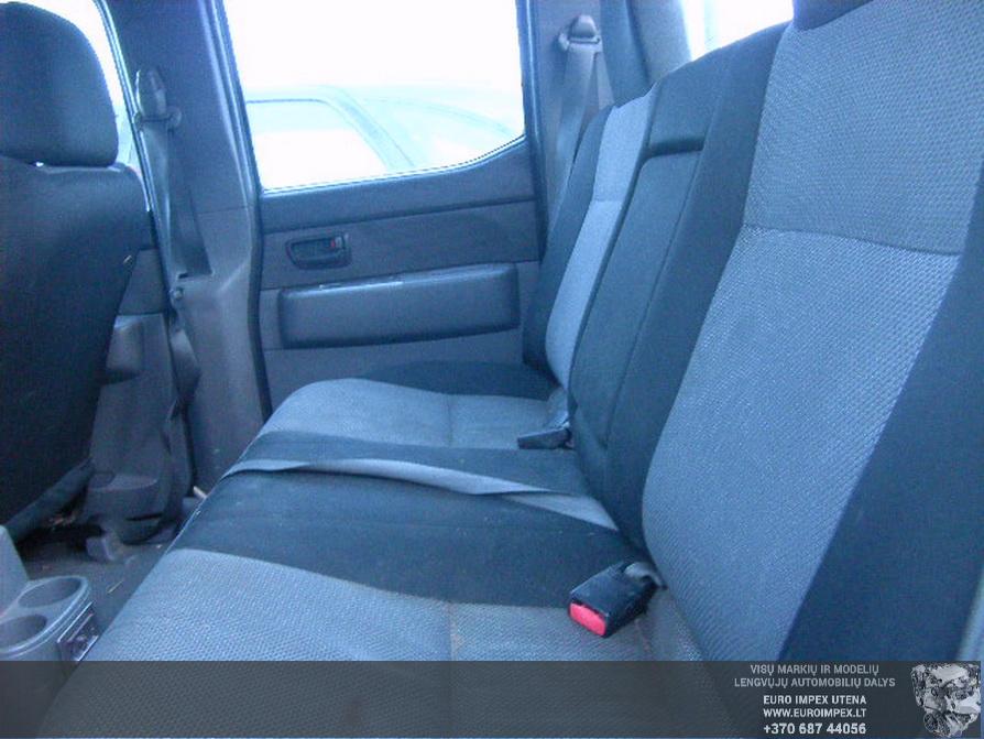 Naudotos automobilio dalys Ford RANGER 2007 2.5 Mechaninė Visureigis 4/5 d. Juoda 2014-3-07