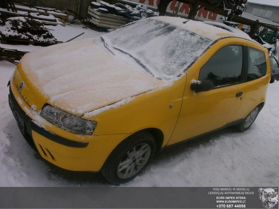 Naudotos automobilio dalys Fiat PUNTO 2000 1.2 Mechaninė Hačbekas 2/3 d. Sidabrine 2015-1-24