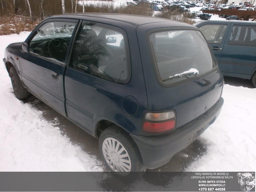 Naudotos automobilio dalys Suzuki ALTO 1991 1.0 Mechaninė Hačbekas 2/3 d. Melyna 2014-3-17