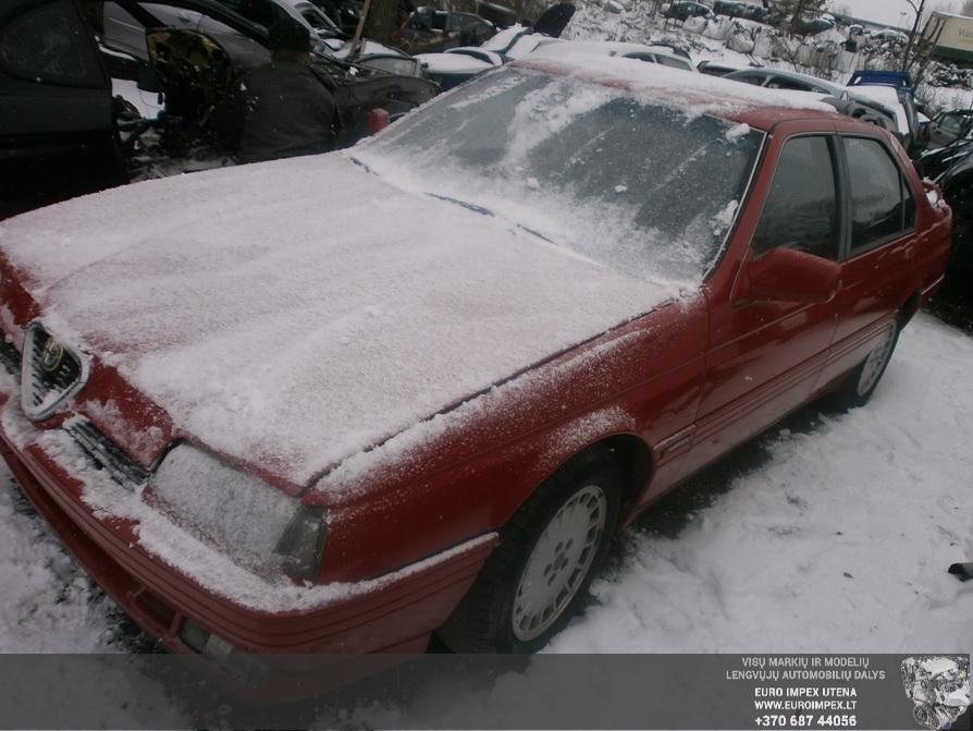 Naudotos automobilio dalys Alfa-Romeo 164 1988 2.0 Mechaninė Sedanas 4/5 d. Raudona 2014-3-17