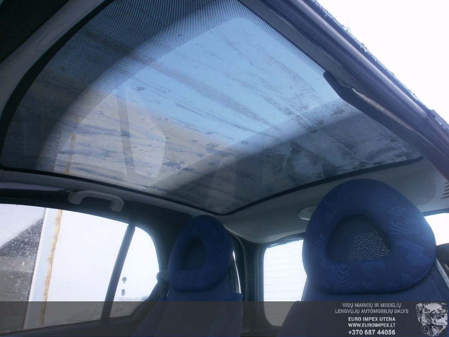Naudotos automobilio dalys Smart SMART 2000 0.6 Automatinė Hačbekas 2/3 d. Juoda 2014-3-17