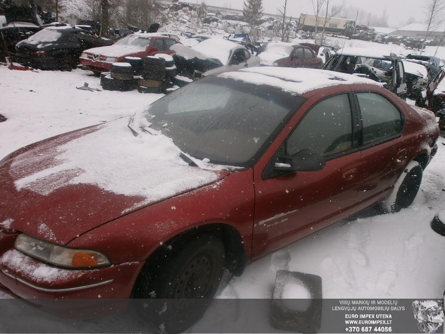 Naudotos automobiliu dallys Foto 1 Chrysler CIRRUS 1999 2.5 Automatinė Sedanas 4/5 d. Raudona 2014-3-17 A1413