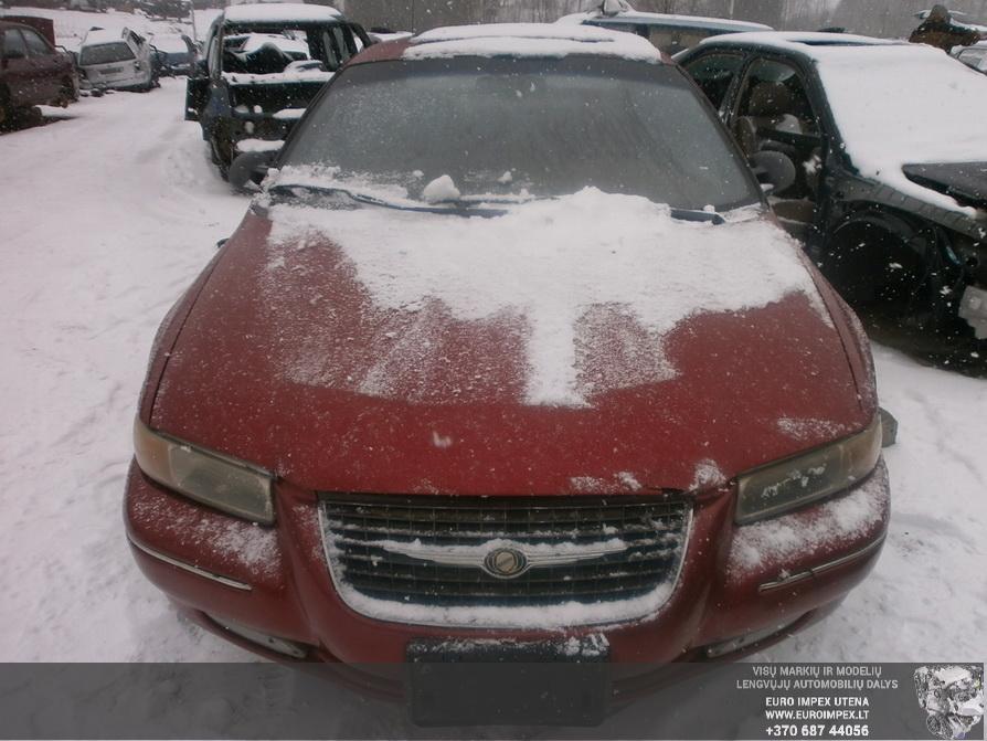 Naudotos automobiliu dallys Foto 2 Chrysler CIRRUS 1999 2.5 Automatinė Sedanas 4/5 d. Raudona 2014-3-17 A1413