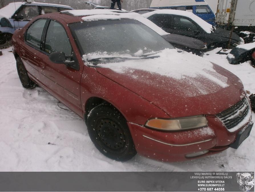 Naudotos automobiliu dallys Foto 3 Chrysler CIRRUS 1999 2.5 Automatinė Sedanas 4/5 d. Raudona 2014-3-17 A1413