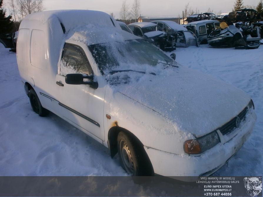 Naudotos automobiliu dallys Foto 3 Volkswagen CADDY 1998 1.9 Mechaninė Komercinis 2/3 d. Balta 2014-3-17 A1416