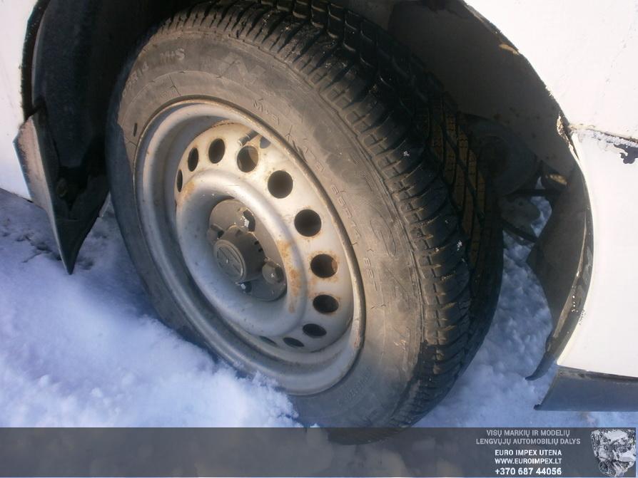Naudotos automobiliu dallys Foto 4 Volkswagen CADDY 1998 1.9 Mechaninė Komercinis 2/3 d. Balta 2014-3-17 A1416