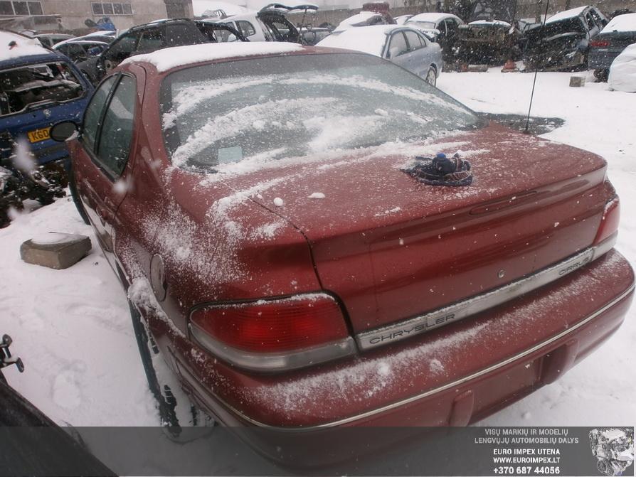 Naudotos automobilio dalys Chrysler CIRRUS 1999 2.5 Automatinė Sedanas 4/5 d. Raudona 2014-3-17