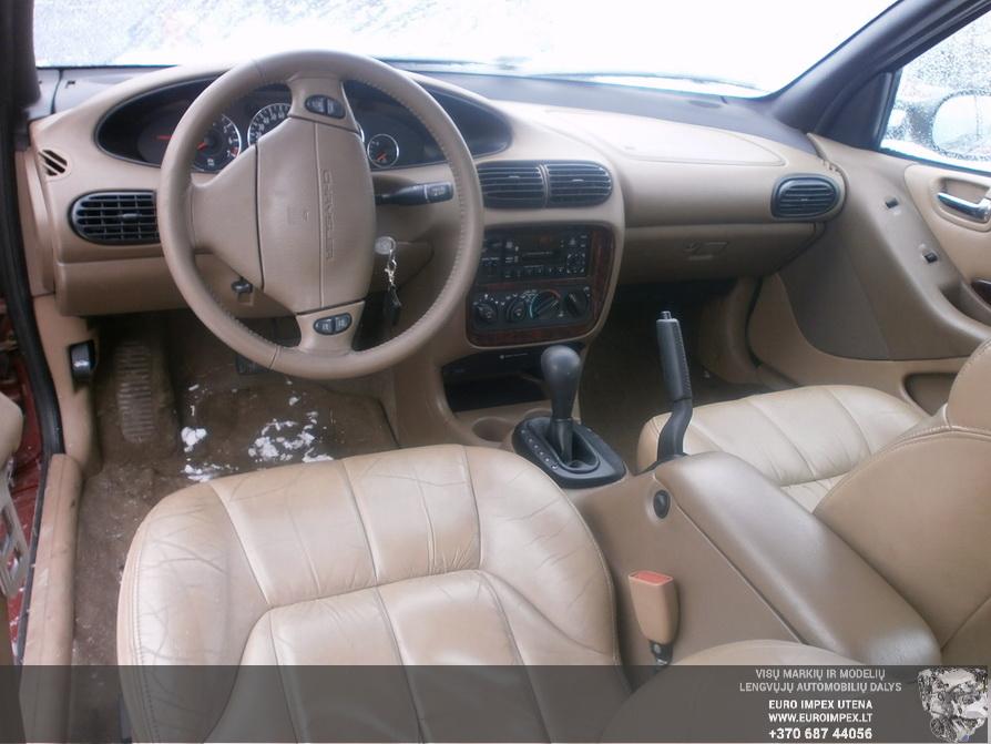 Naudotos automobiliu dallys Foto 7 Chrysler CIRRUS 1999 2.5 Automatinė Sedanas 4/5 d. Raudona 2014-3-17 A1413