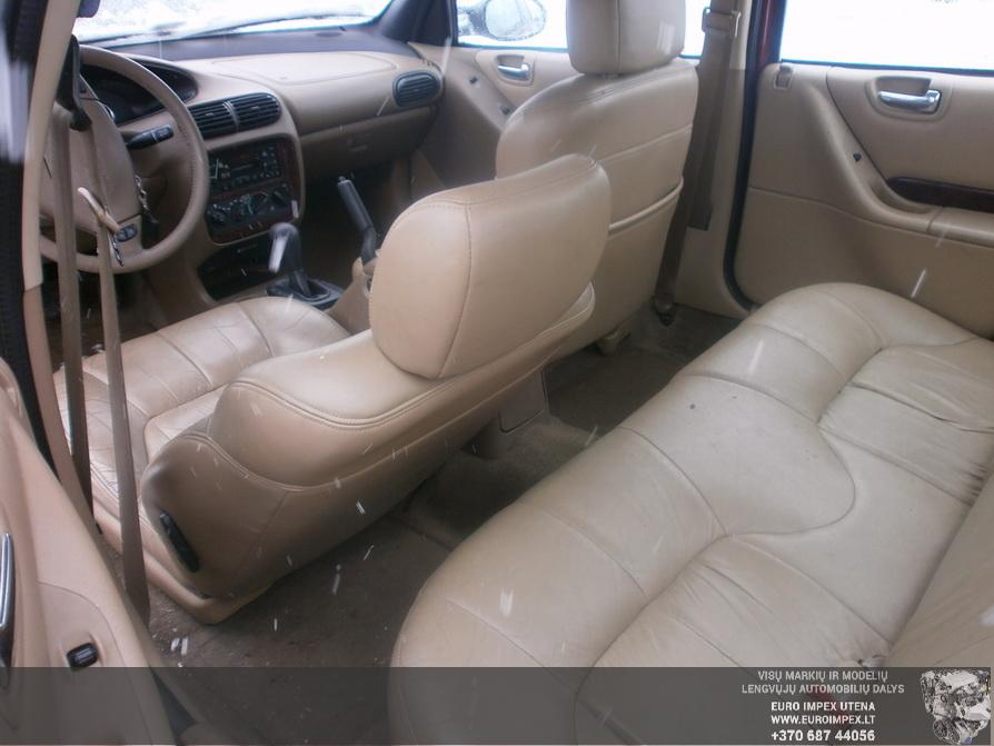 Naudotos automobiliu dallys Foto 8 Chrysler CIRRUS 1999 2.5 Automatinė Sedanas 4/5 d. Raudona 2014-3-17 A1413
