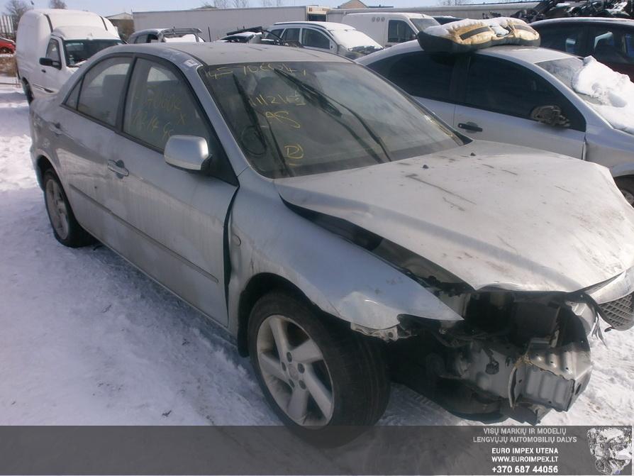 Naudotos automobiliu dallys Foto 3 Mazda 6 2004 2.0 Mechaninė Sedanas 4/5 d. Pilka 2014-3-18 A1418