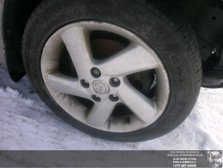 Naudotos automobiliu dallys Foto 4 Mazda 6 2004 2.0 Mechaninė Sedanas 4/5 d. Pilka 2014-3-18 A1418