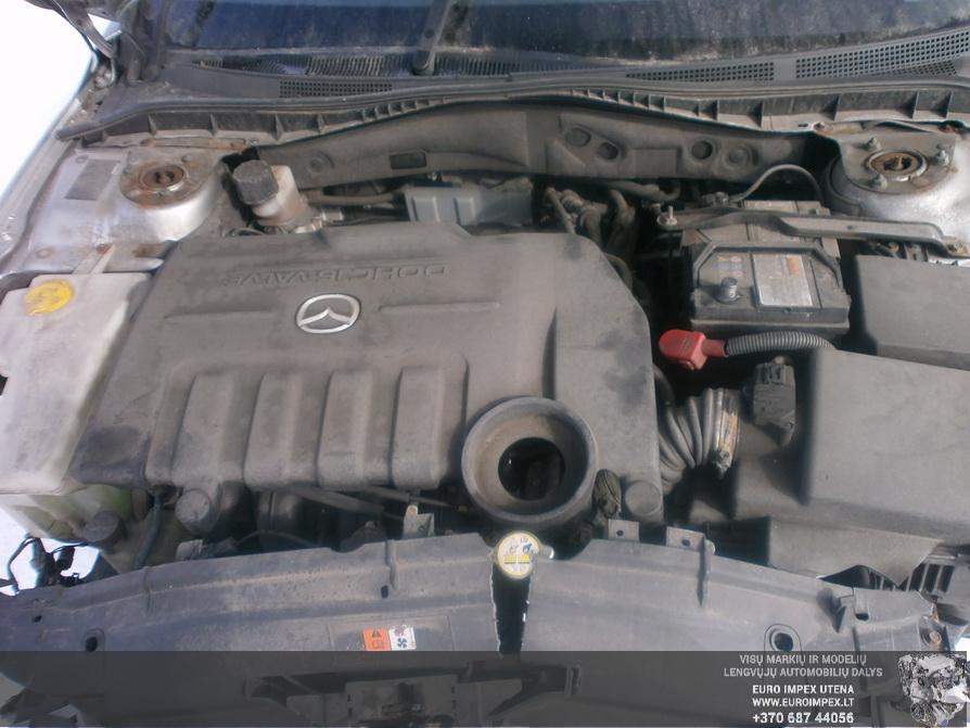 Naudotos automobiliu dallys Foto 8 Mazda 6 2004 2.0 Mechaninė Sedanas 4/5 d. Pilka 2014-3-18 A1418