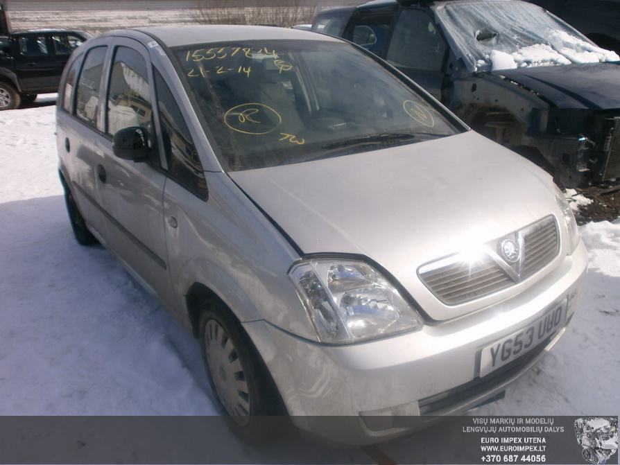 Opel MERIVA 2003 1.6 Mechanical