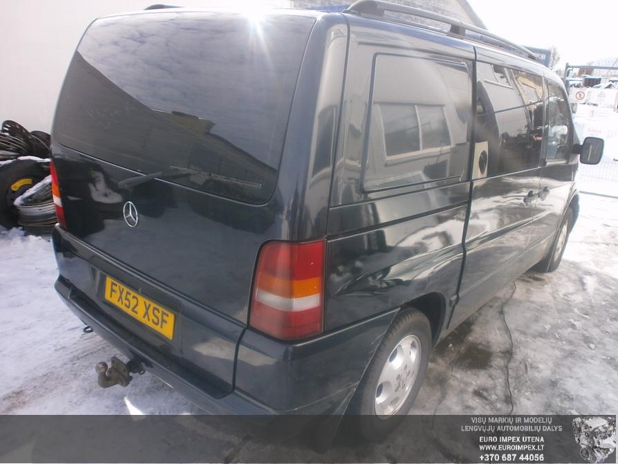 Naudotos automobilio dalys Mercedes-Benz VITO 2002 2.2 Automatinė Vienatūris 4/5 d. Juoda 2014-3-18