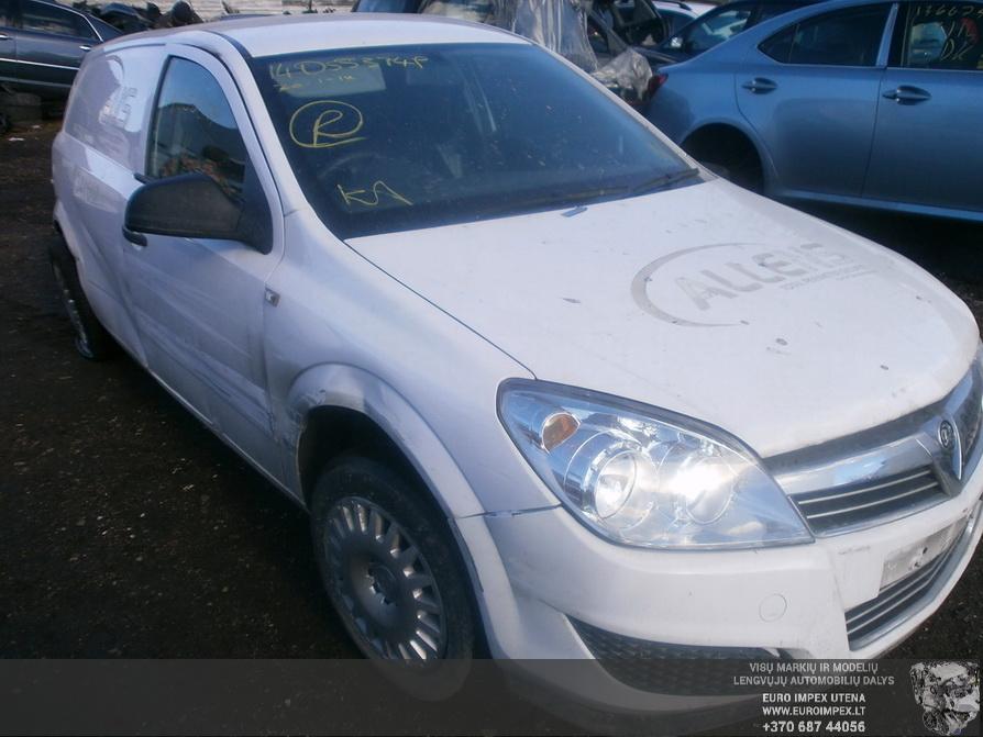 Opel ASTRA 2012 1.7 Mechaninė