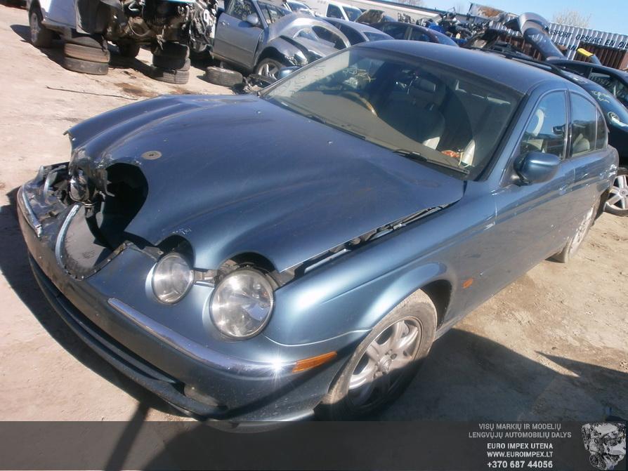 Used Car Parts Foto 8 Jaguar S-TYPE 1999 3.0 Mechanical Sedan 4/5 d. Blue 2014-3-29 A1442