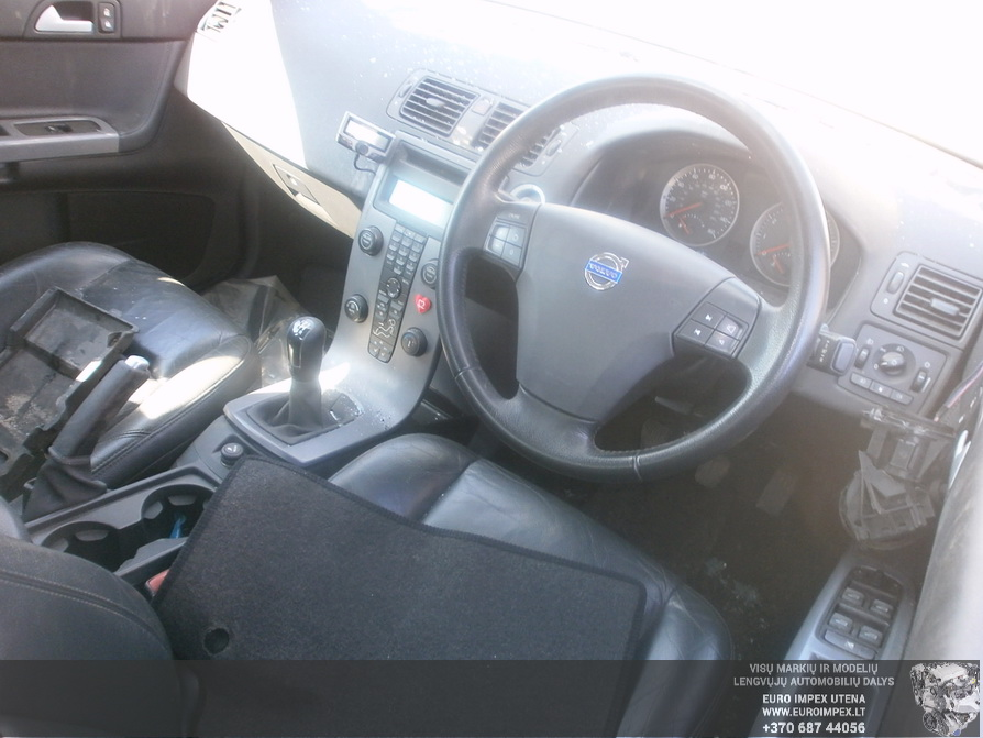 Naudotos automobilio dalys Volvo S40 2006 1.8 Mechaninė Sedanas 4/5 d. Juoda 2014-3-29