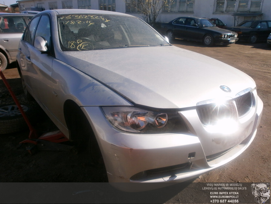 Used Car Parts Foto 3 BMW 3-SERIES 2006 2.0 Automatic Sedan 4/5 d. Silver 2014-3-29 A1438