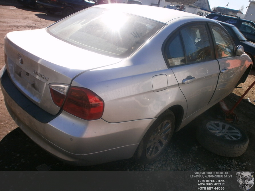 Used Car Parts Foto 7 BMW 3-SERIES 2006 2.0 Automatic Sedan 4/5 d. Silver 2014-3-29 A1438