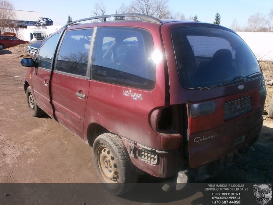 Naudotos automobilio dalys Ford GALAXY 1997 2.3 Mechaninė Vienatūris 4/5 d. Raudona 2014-3-29