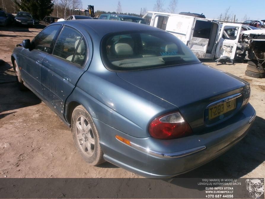 Used Car Parts Foto 3 Jaguar S-TYPE 1999 3.0 Mechanical Sedan 4/5 d. Blue 2014-3-29 A1442