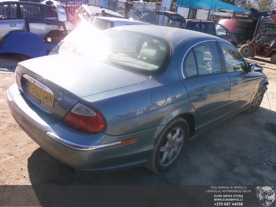 Used Car Parts Foto 4 Jaguar S-TYPE 1999 3.0 Mechanical Sedan 4/5 d. Blue 2014-3-29 A1442