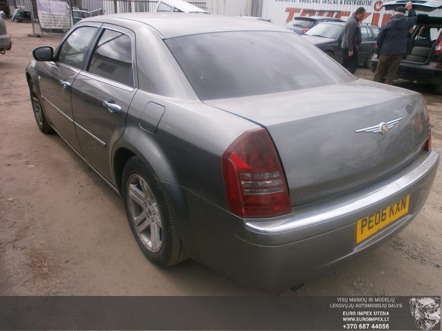 Naudotos automobilio dalys Chrysler 300C 2006 3.0 Automatinė Sedanas 4/5 d. Pilka 2014-3-31