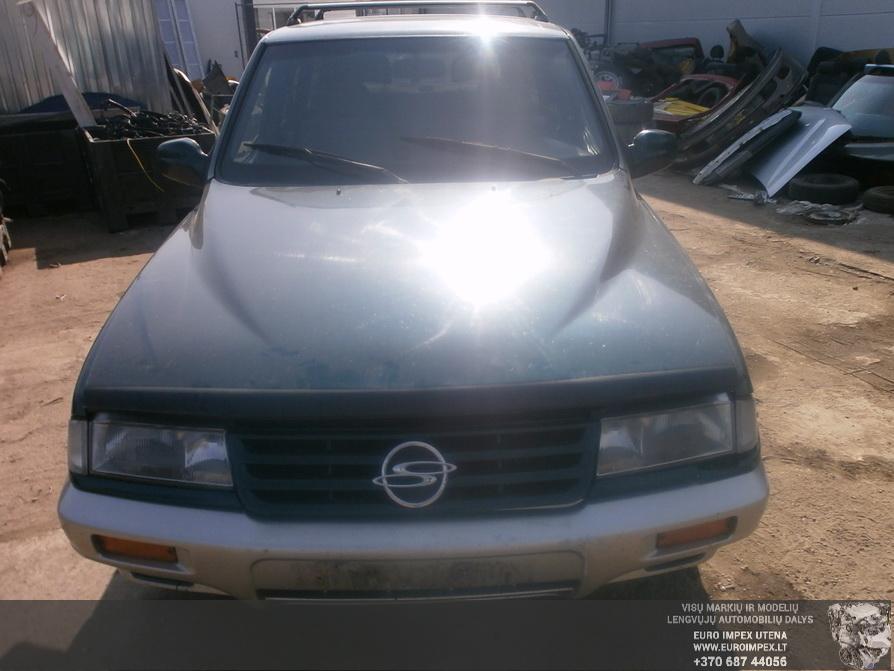 Naudotos automobiliu dallys Foto 2 SsangYong MUSSO 1996 2.9 Mechaninė Visureigis 4/5 d. Žalia 2014-4-03 A1452