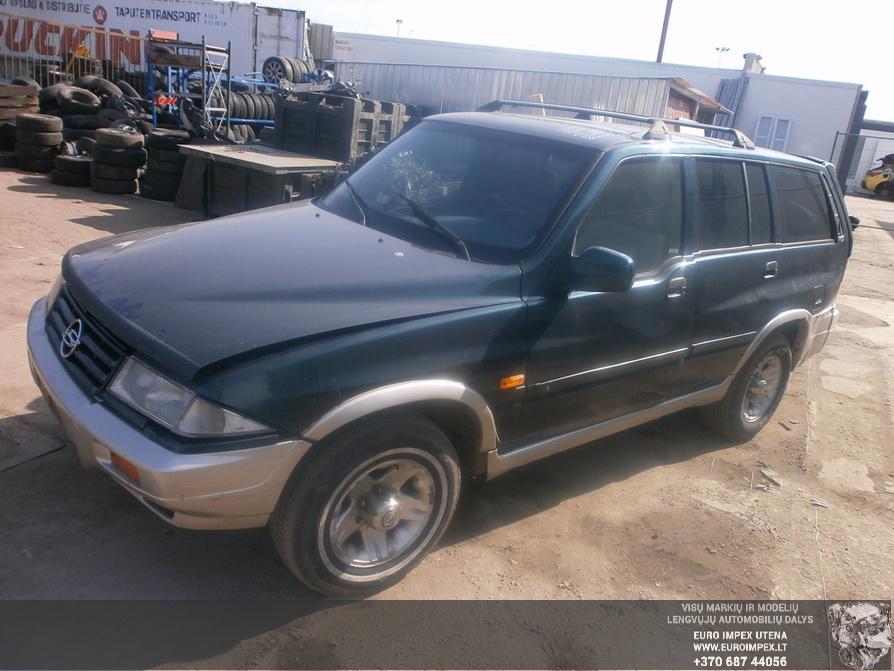 Naudotos automobiliu dallys Foto 3 SsangYong MUSSO 1996 2.9 Mechaninė Visureigis 4/5 d. Žalia 2014-4-03 A1452