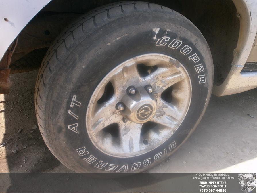 Naudotos automobiliu dallys Foto 7 SsangYong MUSSO 1996 2.9 Mechaninė Visureigis 4/5 d. Žalia 2014-4-03 A1452