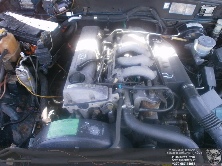 Naudotos automobiliu dallys Foto 8 SsangYong MUSSO 1996 2.9 Mechaninė Visureigis 4/5 d. Žalia 2014-4-03 A1452