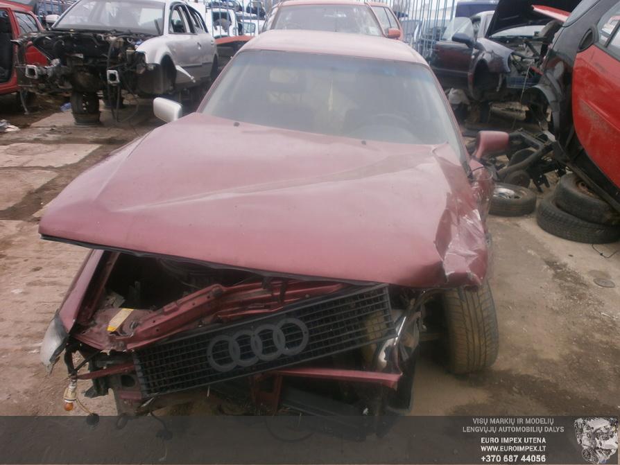 Naudotos automobiliu dallys Foto 2 Audi 80 1991 1.8 Mechaninė Sedanas 4/5 d. Raudona 2014-4-03 A1453