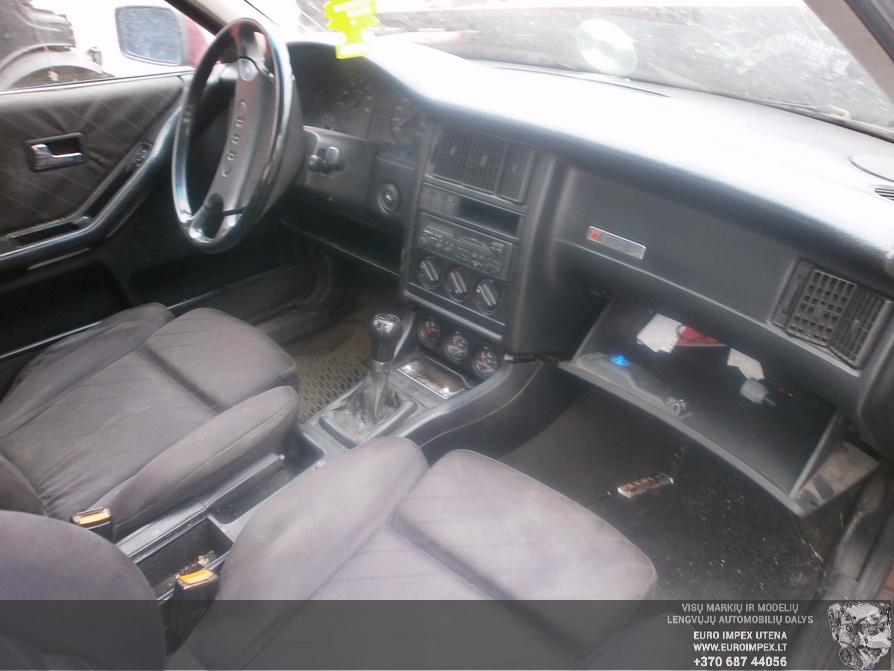 Naudotos automobiliu dallys Foto 5 Audi 80 1991 1.8 Mechaninė Sedanas 4/5 d. Raudona 2014-4-03 A1453
