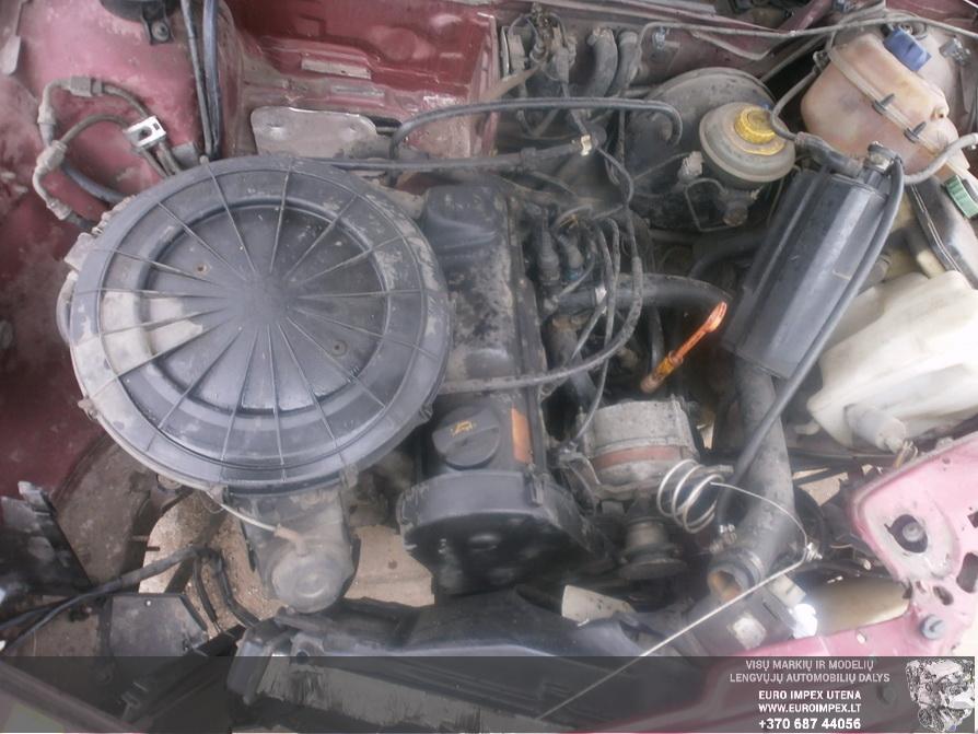 Naudotos automobiliu dallys Foto 8 Audi 80 1991 1.8 Mechaninė Sedanas 4/5 d. Raudona 2014-4-03 A1453
