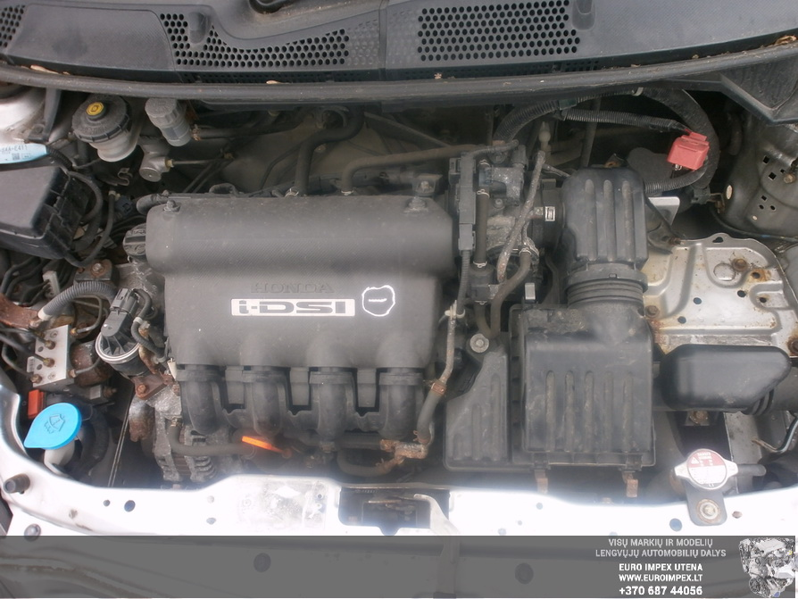 Naudotos automobiliu dallys Foto 8 Honda JAZZ 2006 1.2 Mechaninė Hačbekas 4/5 d. Pilka 2014-4-03 A1454