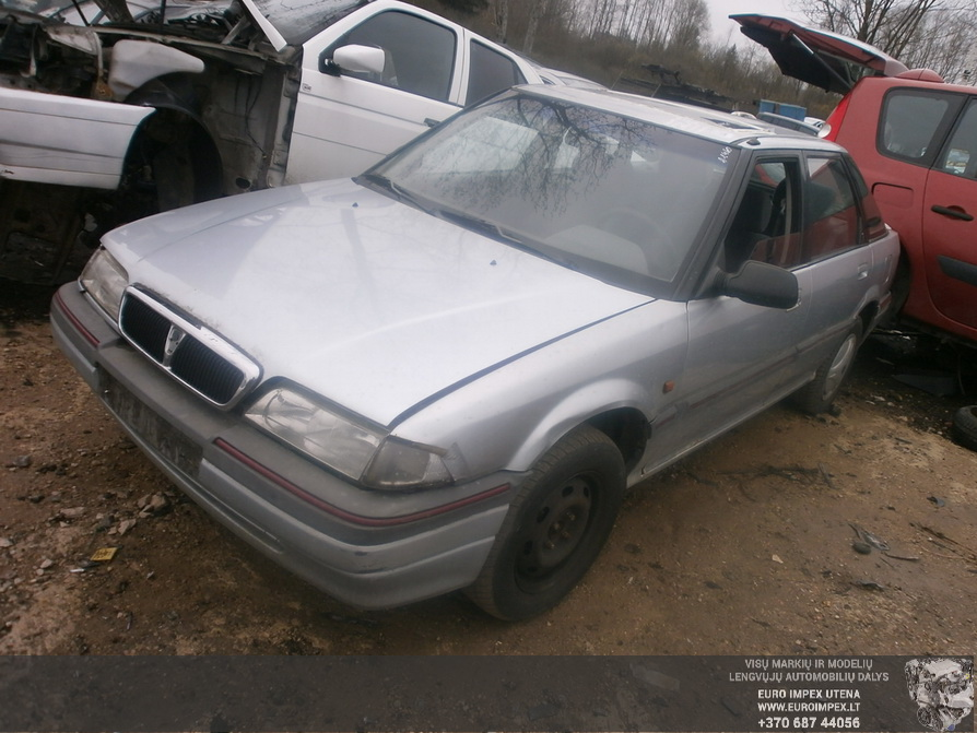 Naudotos automobilio dalys Rover 200-SERIES 1993 1.6 Mechaninė Hačbekas 4/5 d. Pilka 2014-4-08