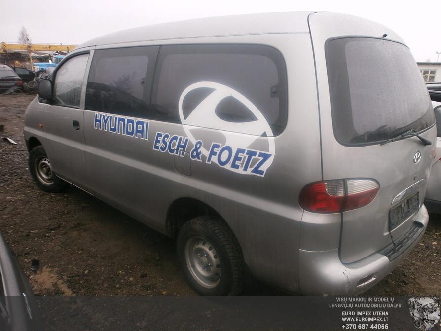 Naudotos automobilio dalys Hyundai H-1 2003 2.5 Mechaninė Vienatūris 4/5 d. Pilka 2014-4-08
