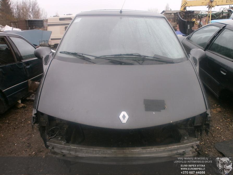 Naudotos automobiliu dallys Foto 2 Renault ESPACE 1997 3.0 Mechaninė Vienatūris 4/5 d. Juoda 2014-4-08 A1463