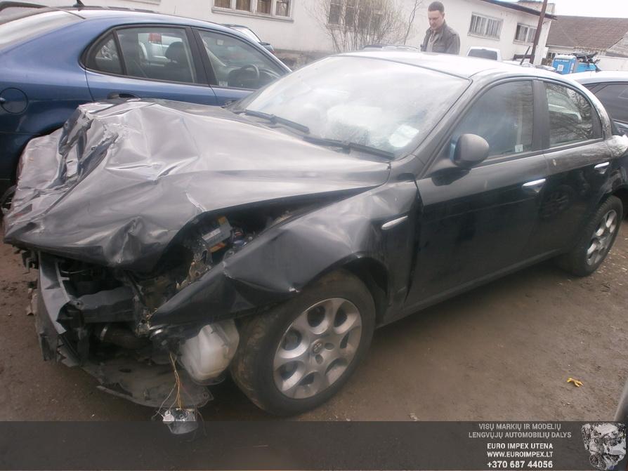 Naudotos automobilio dalys Alfa-Romeo 159 2010 1.9 Mechaninė Sedanas 4/5 d. Juoda 2014-4-14