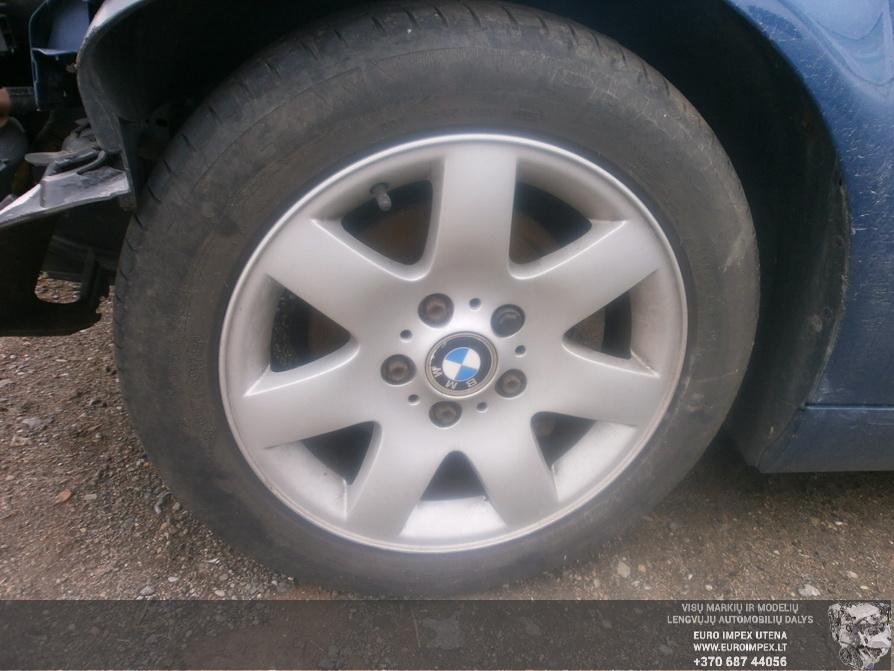 Naudotos automobiliu dallys Foto 4 BMW 3-SERIES 2002 1.8 Mechaninė Hačbekas 2/3 d. Melyna 2014-4-14 A1481