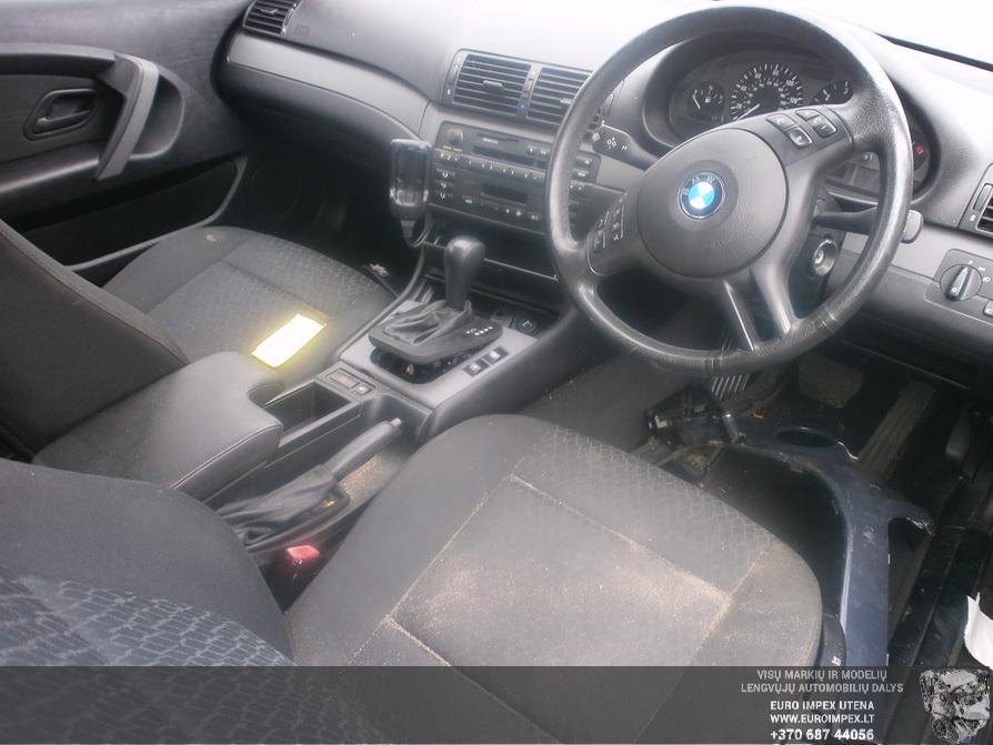 Naudotos automobiliu dallys Foto 7 BMW 3-SERIES 2002 1.8 Mechaninė Hačbekas 2/3 d. Melyna 2014-4-14 A1481