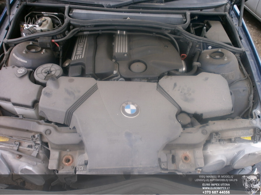Naudotos automobiliu dallys Foto 8 BMW 3-SERIES 2002 1.8 Mechaninė Hačbekas 2/3 d. Melyna 2014-4-14 A1481