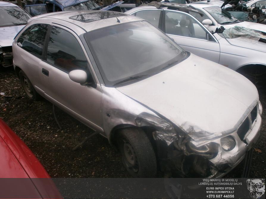 Naudotos automobilio dalys Rover 25 2000 2.0 Mechaninė Hačbekas 2/3 d. Pilka 2014-4-14