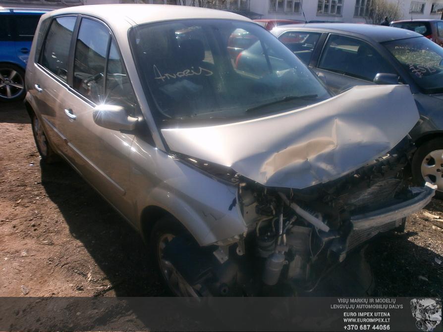 Renault SCENIC 2007 1.5 Mechaninė