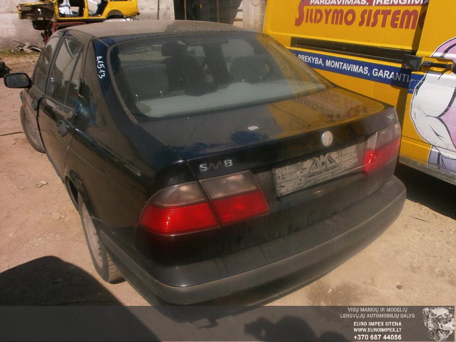 Naudotos automobilio dalys SAAB 9-5 1997 2.0 Mechaninė Sedanas 4/5 d. Juoda 2014-4-23